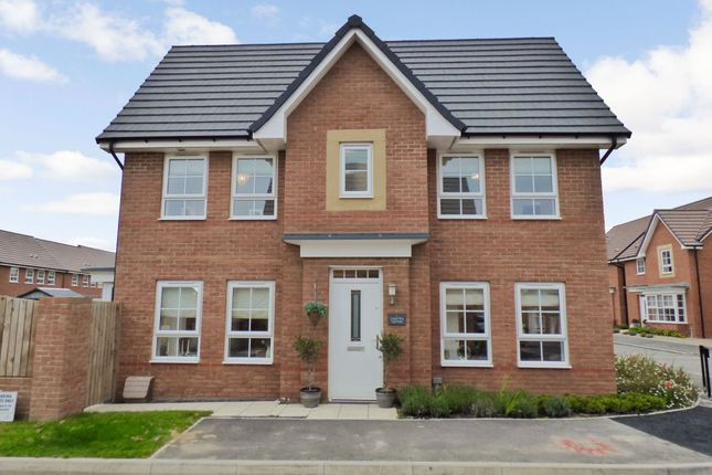 Thumbnail Detached house for sale in Turner Square, Morpeth