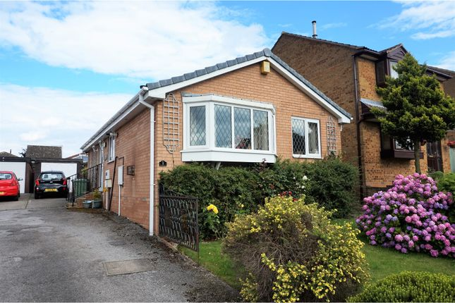Thumbnail Detached bungalow for sale in Durham Avenue, Grassmoor, Chesterfield