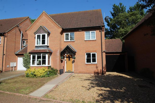 Thumbnail Detached house for sale in Waterfall Gardens, Newborough, Peterborough