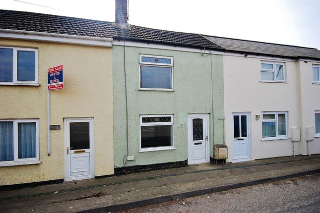 Thumbnail Terraced house to rent in Bourne Road, Pode Hole, Spalding