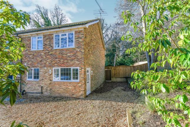Thumbnail End terrace house for sale in Windlesham, Surrey, United Kingdom