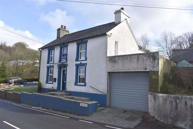 Thumbnail Detached house for sale in Llanybydder