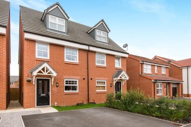 Thumbnail Semi-detached house for sale in Corbett Road, Moston, Sandbach, Cheshire