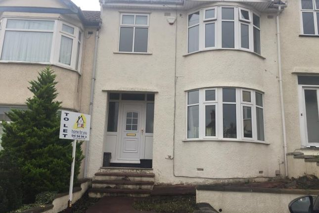 Thumbnail Terraced house to rent in Aylesbury Crescent, Bedminster, Bristol