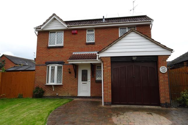 Thumbnail Detached house for sale in Pentridge Drive, Ilkeston