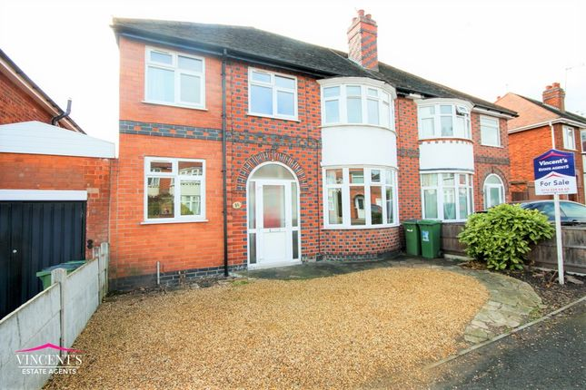 Thumbnail Semi-detached house for sale in Francis Avenue, Braunstone Town, Leicester