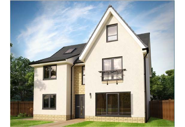 Thumbnail Detached house for sale in Bowmont Terrace, Dunbar
