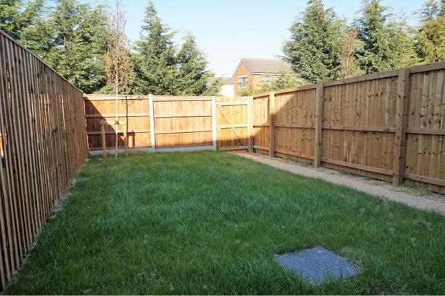 Rear Garden of 5 Downy Close, Cottam, Preston PR4