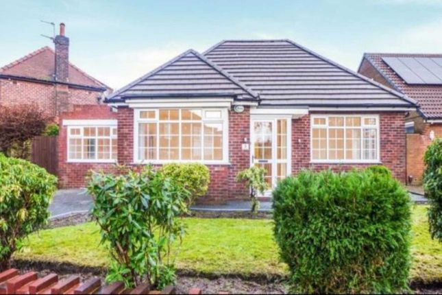 Thumbnail Bungalow to rent in Hillingdon Road, Whitefield, Manchester
