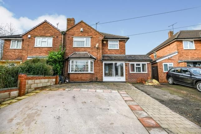 Thumbnail Semi-detached house for sale in Rydding Lane, West Bromwich, West Midlands