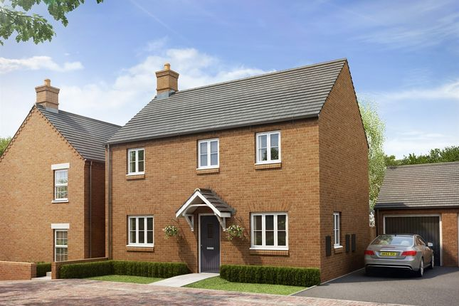 "Thumbnail Detached house for sale in ""The Radstone Bay"" at Heathencote, Towcester"
