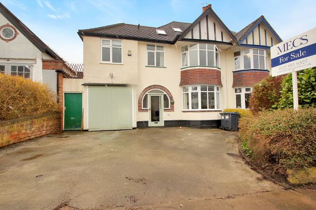Thumbnail Semi-detached house for sale in Ellesboro Road, Harborne, Birmingham