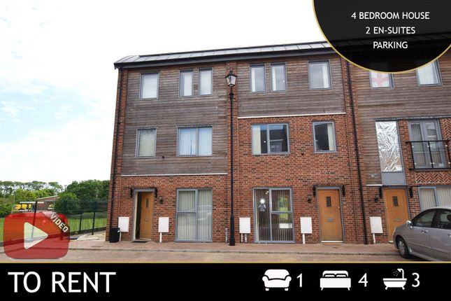 Thumbnail Terraced house to rent in Sangha Close, Leicester, Leicestershire