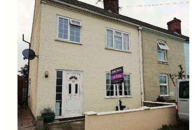 Thumbnail End terrace house for sale in Fakenham Road, Melton Constable