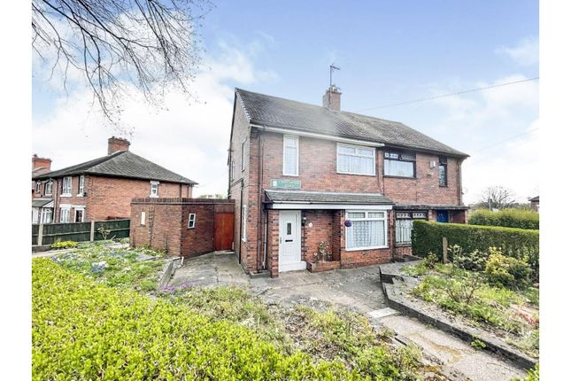 3 bed semi-detached house for sale in Charnwood Road, Stoke-On-Trent ST3