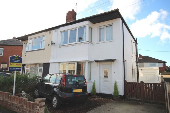Thumbnail Semi-detached house for sale in St. Georges Avenue, Rothwell, Leeds