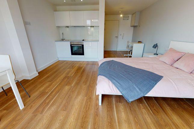 Studio to rent in Open Plan Studio, Block B, One Wolstenholme Square, 2 Nation Way, Liverpool, Merseyside L1