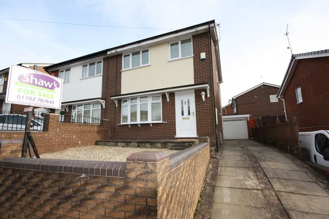 Thumbnail Semi-detached house to rent in Whiteridge Road, Kidsgrove, Stoke-On-Trent