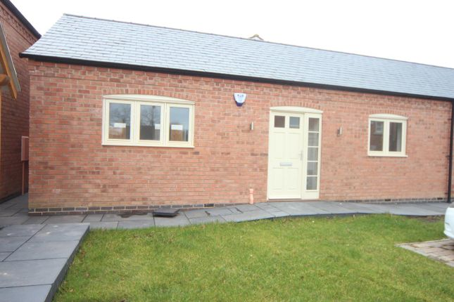 Thumbnail Semi-detached bungalow for sale in Church Street, Burbage, Hinckley