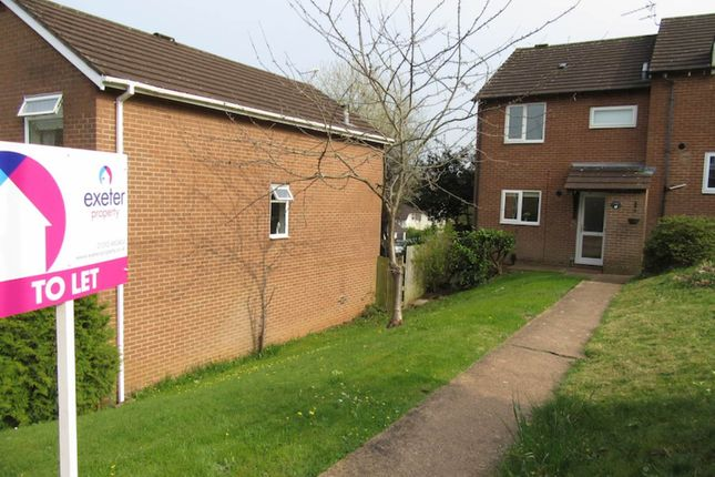 Thumbnail End terrace house to rent in Widecombe Way, Exeter