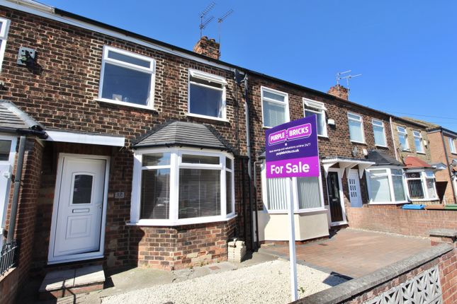 Thumbnail Terraced house for sale in Cambridge Road, Hessle