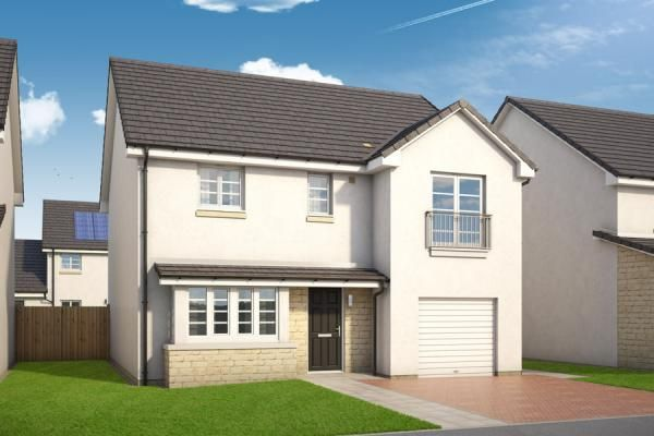 "Thumbnail Property for sale in ""The Tulla At Holmlea"" at Barbadoes Road, Kilmarnock"