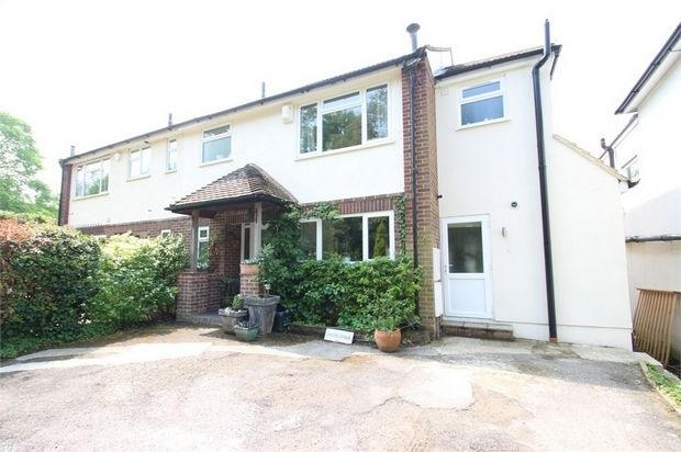 Semi-detached house for sale in Rickford, Worplesdon, Guildford, Surrey