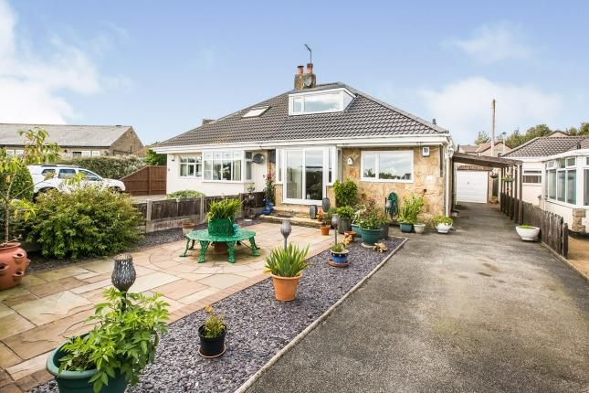 Thumbnail Bungalow for sale in Glazier Road, Queensbury, Bradford, West Yorkshire