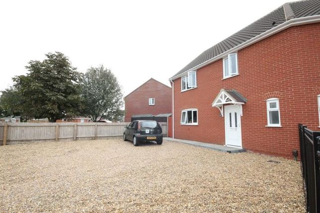 Thumbnail Semi-detached house for sale in Park Way, Hellesdon, Norwich