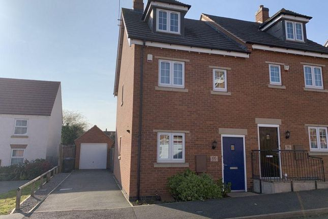 3 bed semi-detached house to rent in Dairy Way, Kibworth Harcourt LE8
