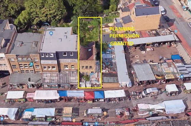 Thumbnail Land for sale in Development Opportunity, Ridley Road, Dalston
