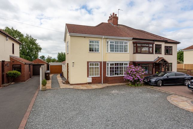 3 bed semi-detached house for sale in Leeds Road, Selby YO8