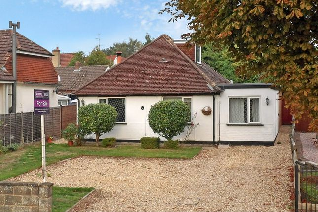 Thumbnail Detached bungalow for sale in Mytchett Road, Camberley