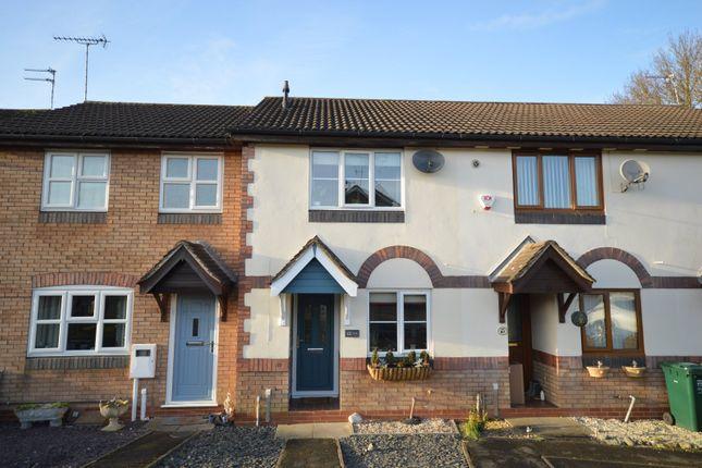 2 bed terraced house for sale in Wye Dale, Church Gresley, Swadlincote, Derbyshire DE11