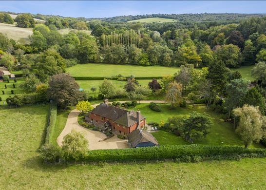 Thumbnail Detached house for sale in Seale, Farnham, Surrey