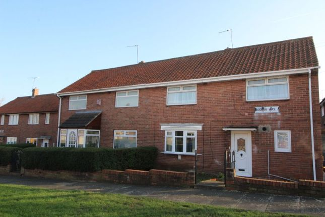 Thumbnail Semi-detached house for sale in Bodmin Way, Newcastle Upon Tyne