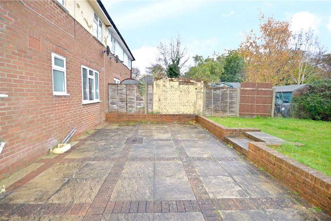 Rear Garden 1 of South Ham Road, Basingstoke, Hampshire RG22