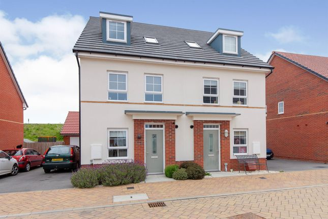 3 bed semi-detached house for sale in Athelney Avenue, Westbury BA13