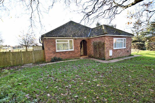 Thumbnail Detached bungalow for sale in Merton Road, Watton, Thetford