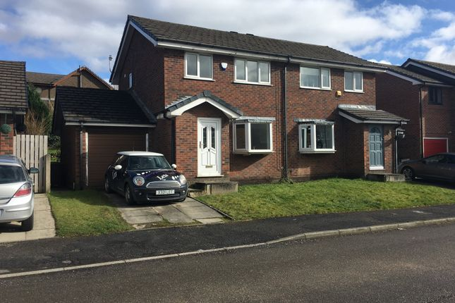 Thumbnail Semi-detached house to rent in The Croft, Hadfield, Glossop