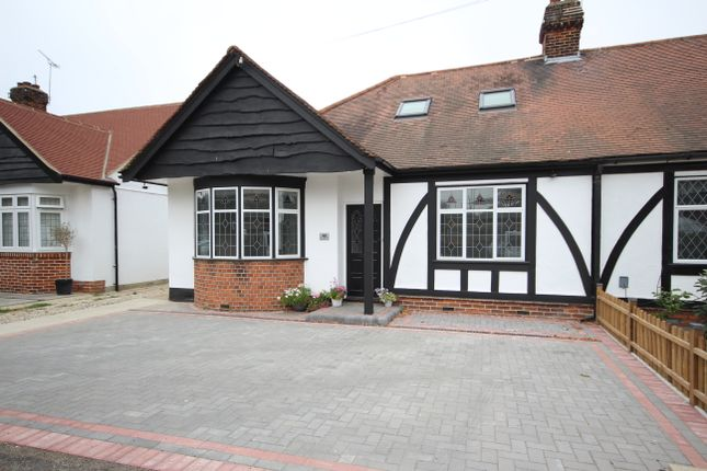 Thumbnail Bungalow to rent in Brackendale Gardens, Upminster