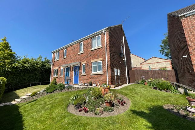 3 bed semi-detached house for sale in Esh Wood View, Ushaw Moor, Durham DH7