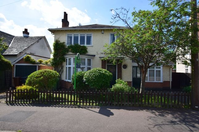 Thumbnail Detached house for sale in Roman Road, Birstall, Leicester