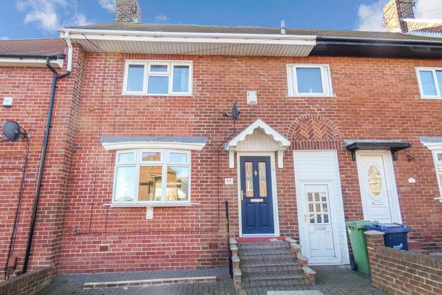 Thumbnail Terraced house for sale in Tudor Grove, Sunderland