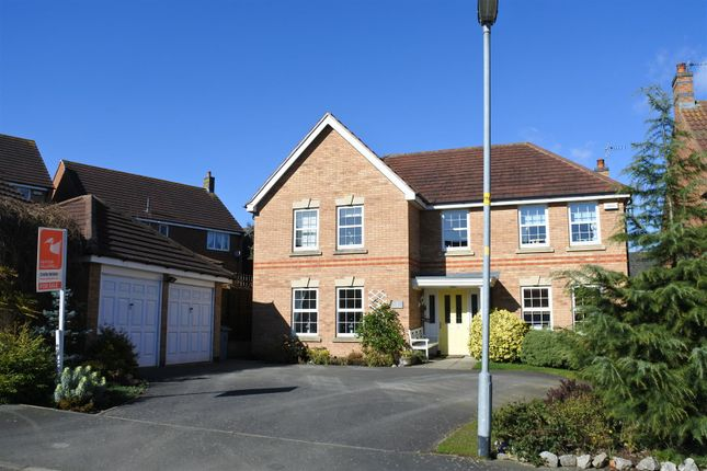 Thumbnail Detached house for sale in Berkeley Avenue, Grantham