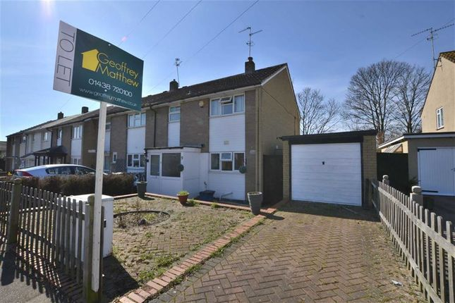 Thumbnail Semi-detached house to rent in West Close, Close To Town Centre, Stevenage, Herts