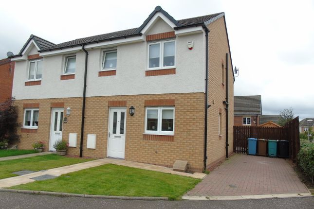 Thumbnail Semi-detached house for sale in Kelburn Grove, Cairnhilll, Airdrie, North Lanarkshire