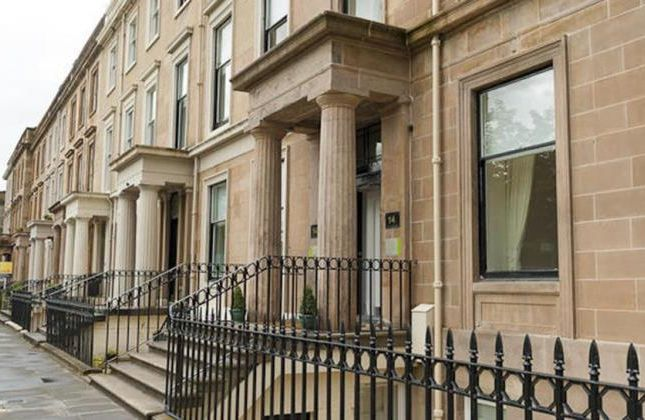 Thumbnail Flat to rent in B1, 14 Woodside Terrace, Glasgow