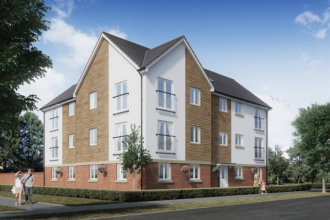 "Thumbnail Flat for sale in ""The Badbury"" at Wilbury Close, Coate, Swindon"
