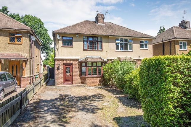 Thumbnail Semi-detached house for sale in Park Road, Leybourne, West Malling